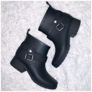 Lucky Brand Rindah rubber rain bootie size 7
